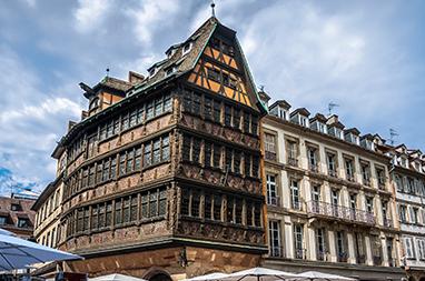 France-Strasbourg- Maison Kammerzell