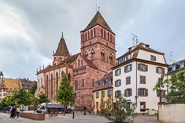 France-Strasbourg-Eglise de Saint-Thomas