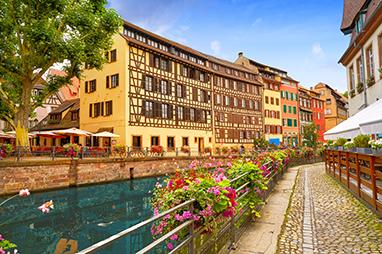 France-Strasbourg- Quartier des Tanneurs (La Petite France)