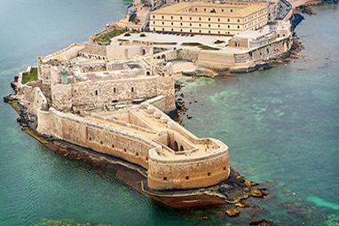 Italy-Syracuse-Castello Maniace