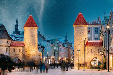 Estonia - Talin - Historic Centre