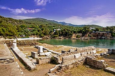 North Aegean Islands - Thasos - Aliki Archaeological Site