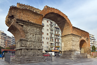 Thessaloniki - The Arch of Galerius