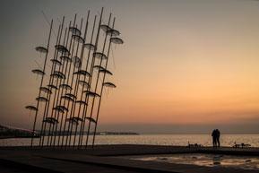 Thessaloniki - Walk along the promenade