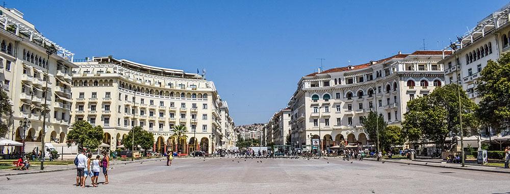 Θεσσαλονίκη, πλατεία Αριτοτέλους