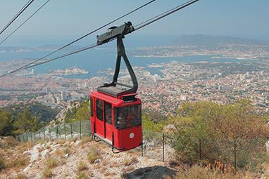 France-Toulon-Mont Faron cableway