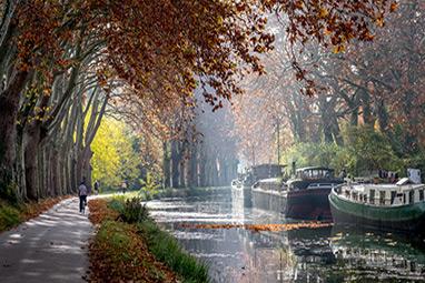France - Toulouse - Canal du Midi