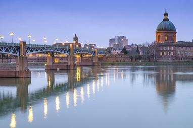France - Toulouse - Garonne River