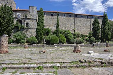 Italy-Trieste-Castello di San Giusto
