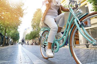 Thesalia-Trikala-Ride a bike in the city