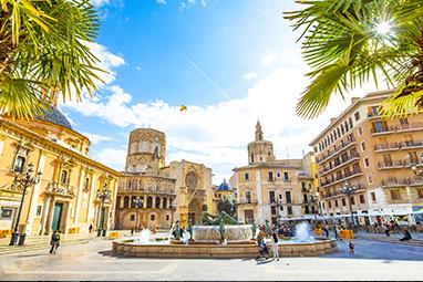 Spain -Valenthia - Plaza de la Virgen