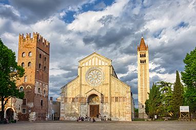 Italy-Verona-Βασιλική του San Zeno Maggiore