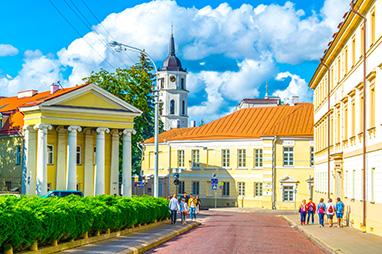 Lithuania-Vilnius-Old town