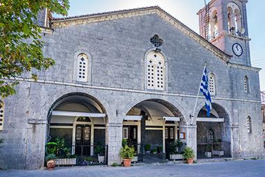 Peloponnissos-Vytina-Church of St. Tryphon