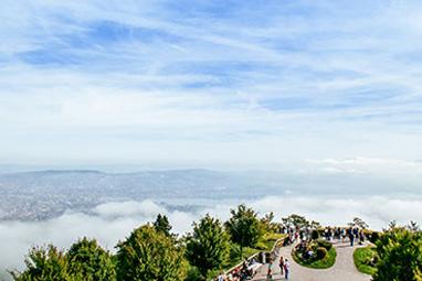 Switzerland-Zurich-Mount Uetliberg