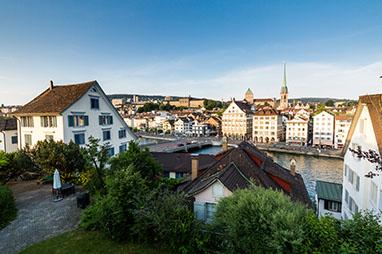 Switzerland-Zurich-Old town