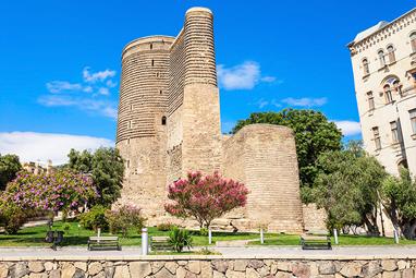 Azerbaijan-Baku-Maiden Tower