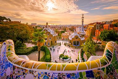 Spain-Barcelona-Πάρκο Γκουέλ