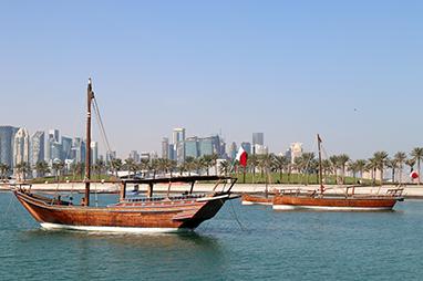Qatar-Doha-Cornice
