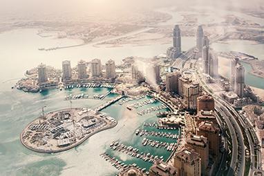 Qatar-Doha-The pearl