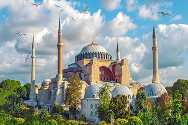 Tyrkey-Istanbul-Αγιά Σοφιά