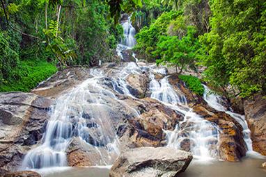Thailand-Koh Samui-Καταρράκτης Na Muang