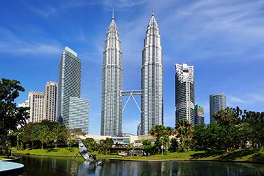 Malaysia-Kuala Lumpur-Πύργοι Petronas