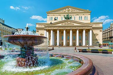 Russia-Moscow-Θέατρο Μπολσόι