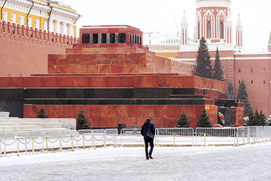 Russia-Moscow-Το Μαυσωλείο του Λένιν
