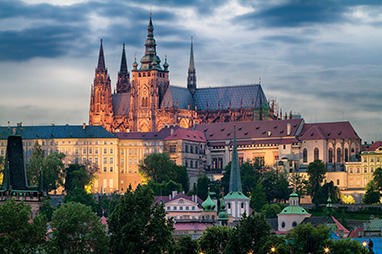 Czech-Prague-Κάστρο της Πράγας
