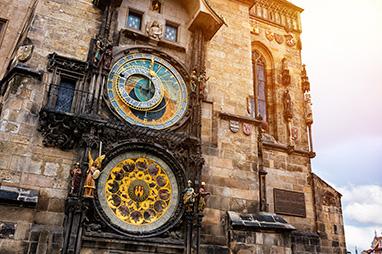 Czech-Prague-Αστρονομικό ρολόι της Πράγας
