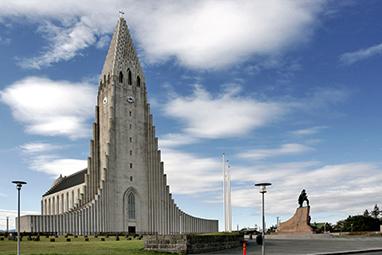 Iceland-Reykjavik-H εκκλησία Hallgrimskirkja