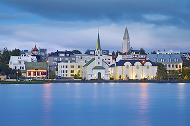 Iceland-Reykjavik-H πόλη