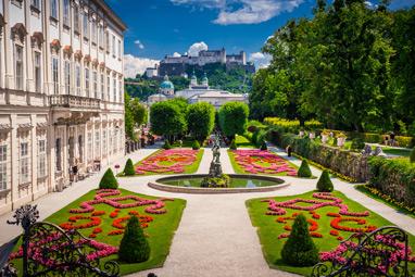 Austria-Salzburg-Παλάτι Mirabell