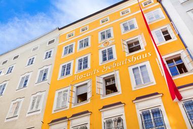 Austria-Salzburg-Το σπίτι του Μότσαρτ