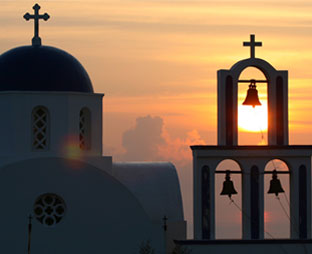 Cyclades - Santorini - Hλιοβασίλεμα
