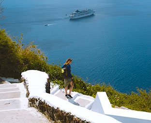 Cyclades - Santorini - Pezoporia