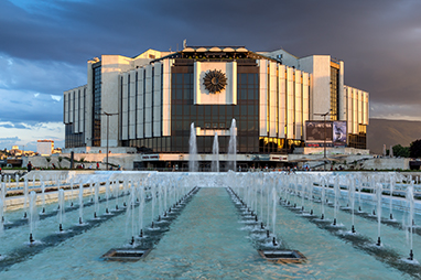 Bulgaria-Sofia-Το Εθνικό Παλάτι του Πολιτισμού