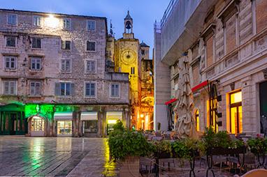 Croatia-Split-Το Ρολόι της Πόλης