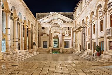 Croatia-Split-Το παλάτι του Διοκλητιανού