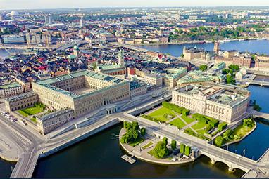 Sweden-Stockholm-Τα βασιλικά ανάκτορα